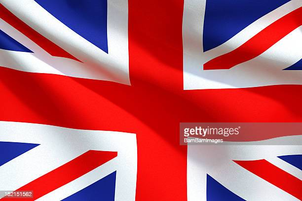 Nahaufnahme Flagge-United Kingdom