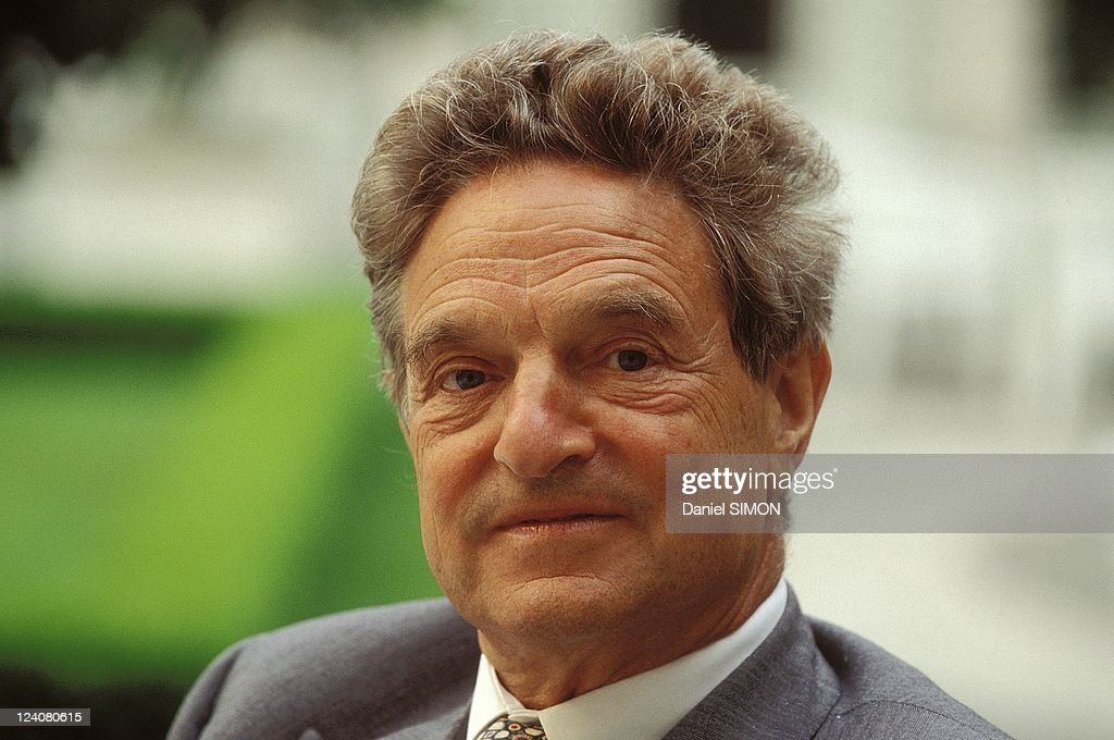 Close -Up George Soros In Paris, France On May 12, 1993. : News Photo