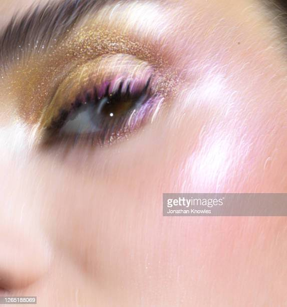 close up glitter eyes - eye stock pictures, royalty-free photos & images