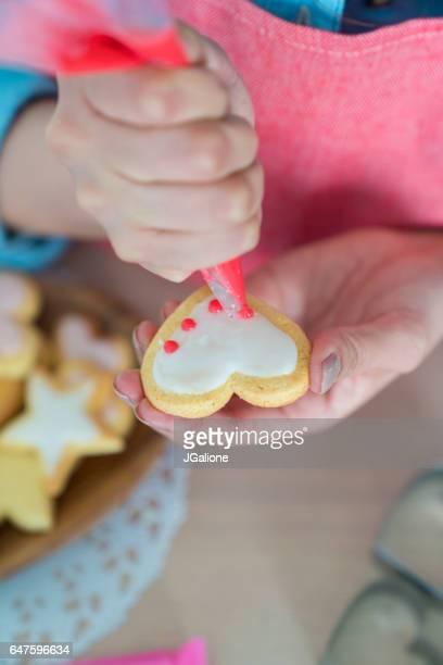 アイシング クッキーを閉じる