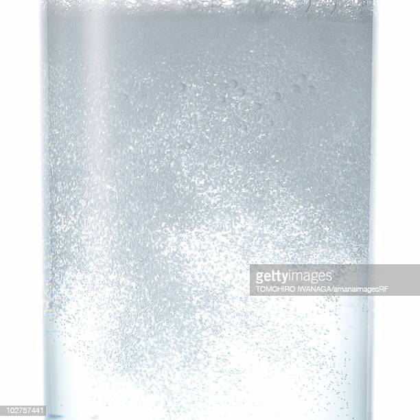 Close Up Image of Bubbles in Glass