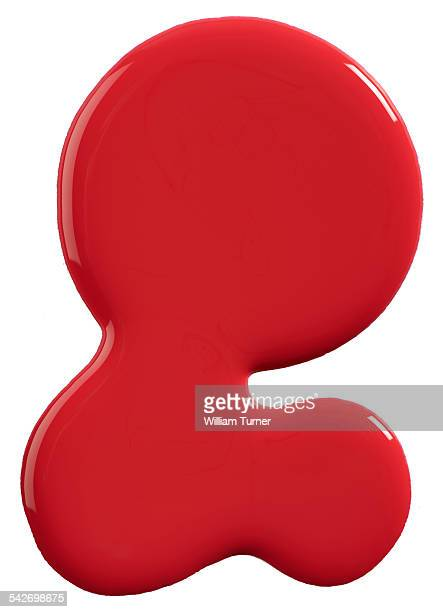 a close up image of red nail polish - red nail polish stock pictures, royalty-free photos & images