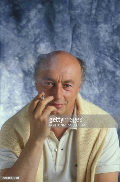 Close up Jean Curtelin scénariste et réalisateur le 7 septembre 1987 à Deauville France