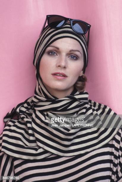 Close up Jeane Manson en juin 1983 a Paris France