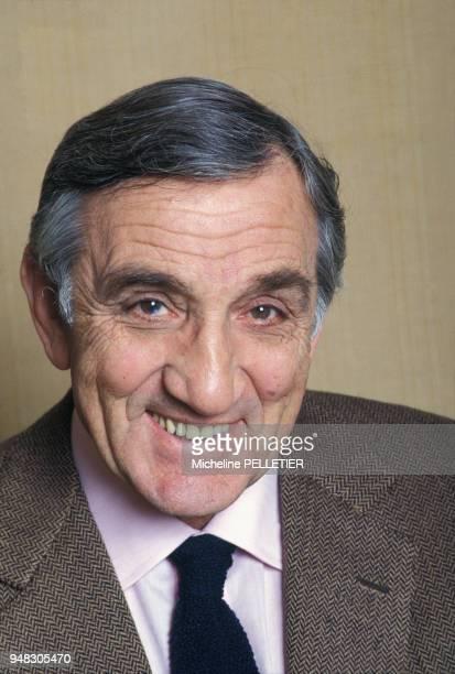 Close up Lino Ventura en mars 1984 en France