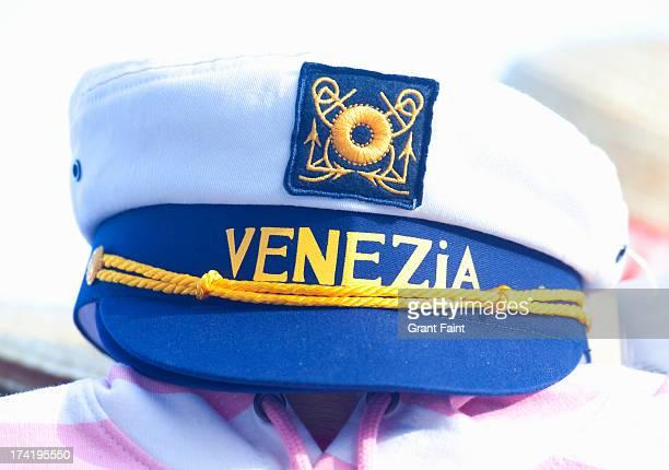 close up nautical hat - セーラーハット ストックフォトと画像