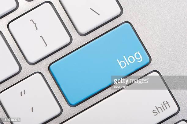 Nahaufnahme von einem blog key