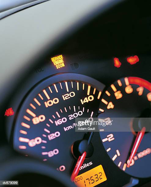 Close up of a Car's Dashboard