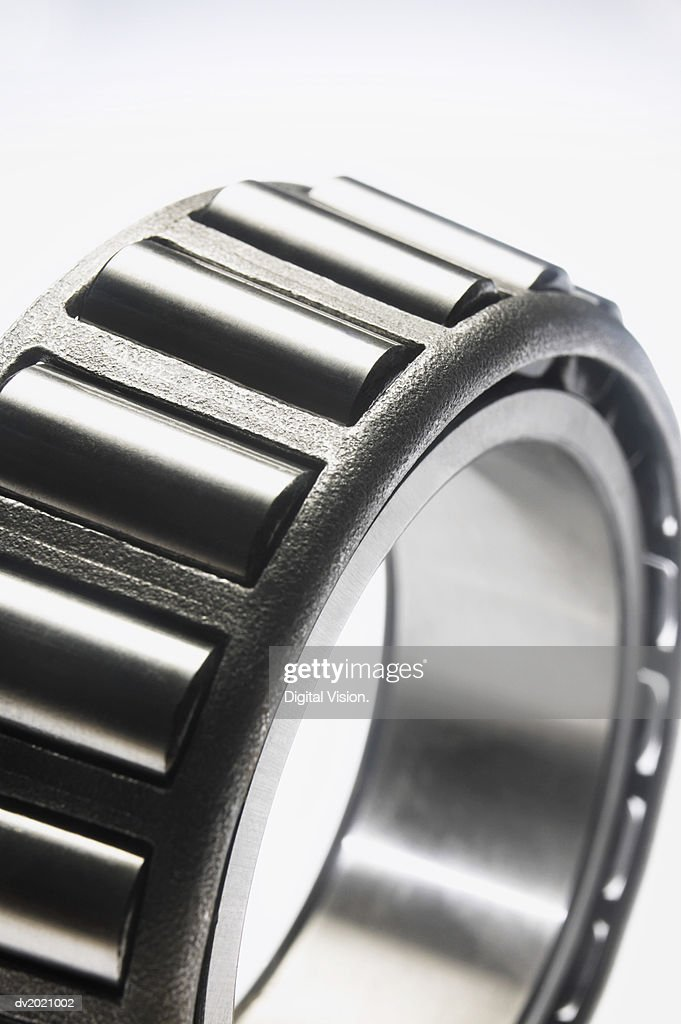 Close Up of a Circular Machine Part : Stock Photo