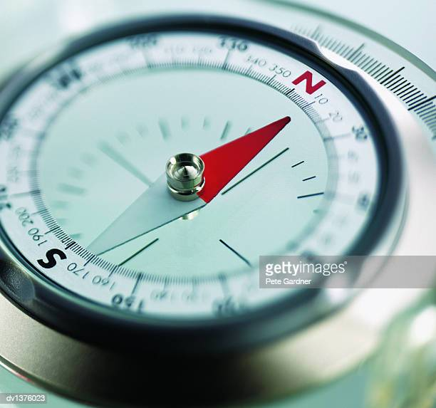 Close Up of a Compass