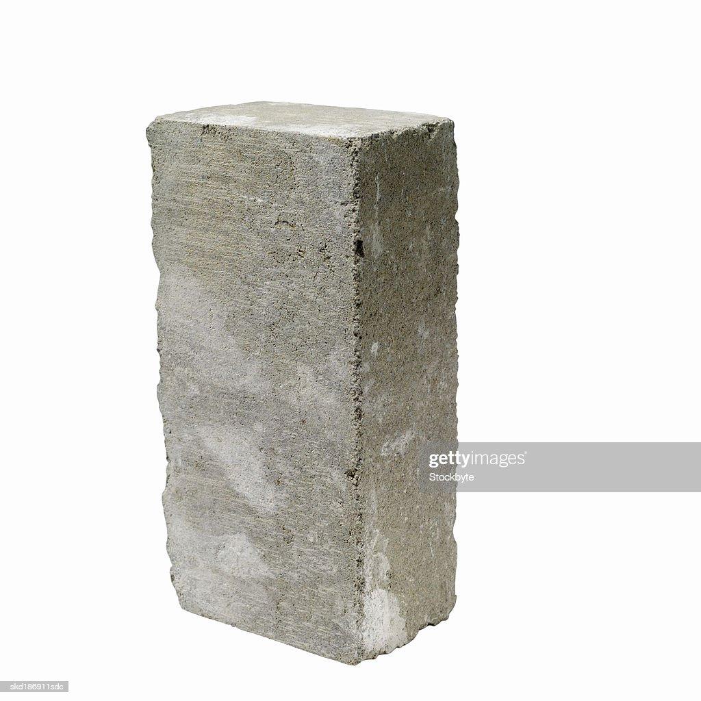 Close up of a concrete block : Stock Photo