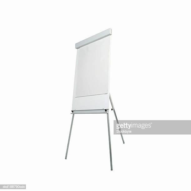 Close up of a flip chart whiteboard