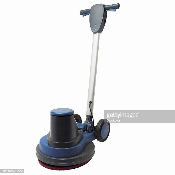 Close up of a floor polisher