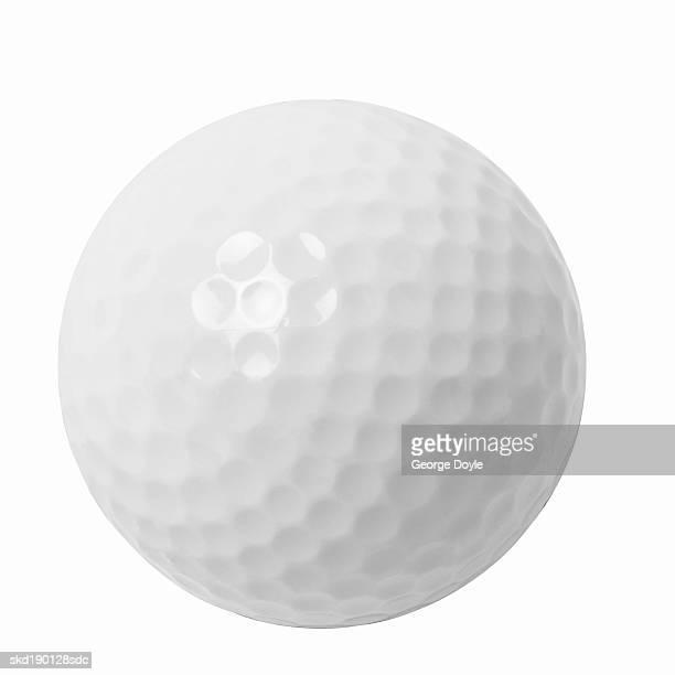Close up of a golf ball