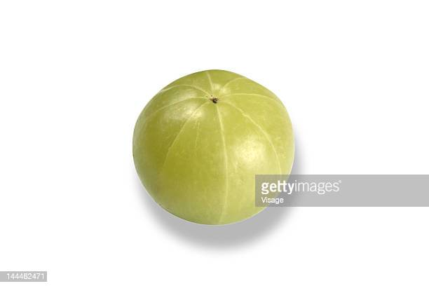 Close up of a gooseberry