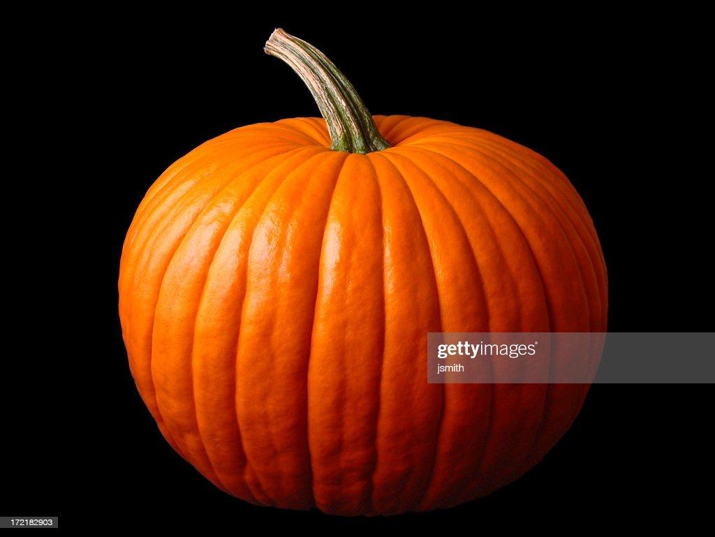 Close up of a large Halloween pumpkin : Stock Photo