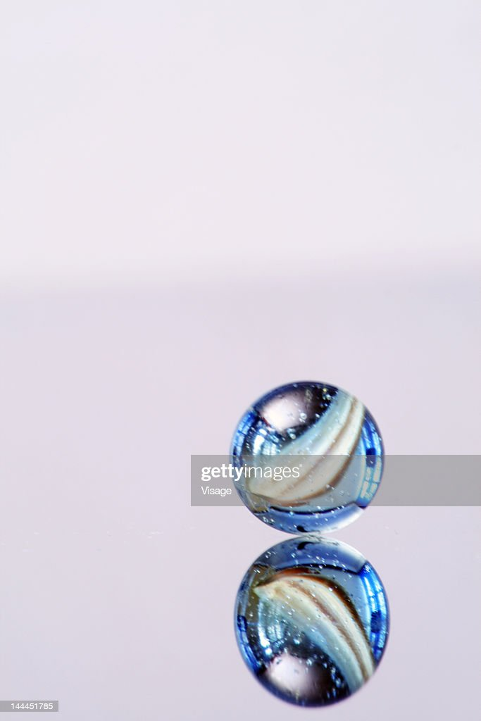 Close up of a marble : Stock Photo