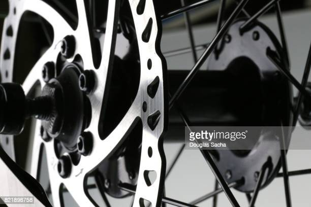 Close up of a modern Bicycle Wheel