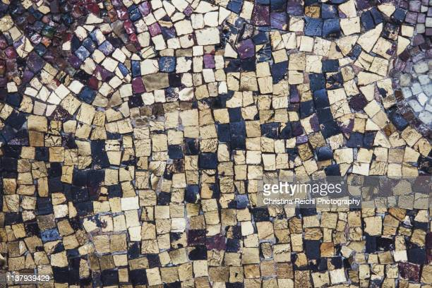 close up of a mosaic - mosaic stock photos and pictures