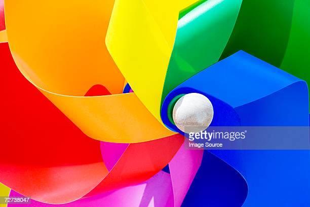 Close up of a pinwheel
