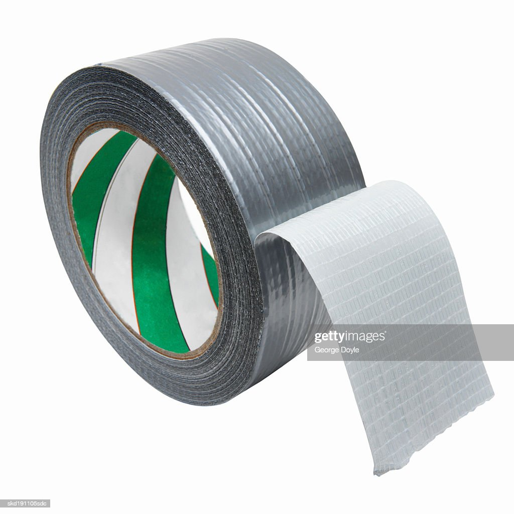 Close up of a roll of masking tape : Stock Photo