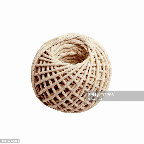 Close up of a roll of twine