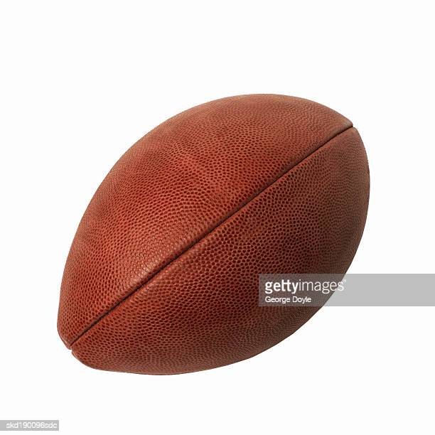 Close up of a rugby ball