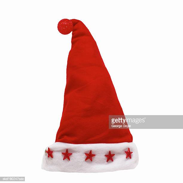 Close up of a Santa hat