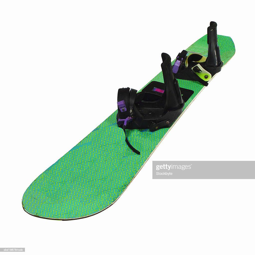 Close up of a snowboard : ストックフォト