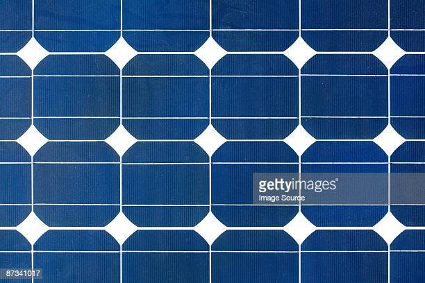 Close up of a solar panel