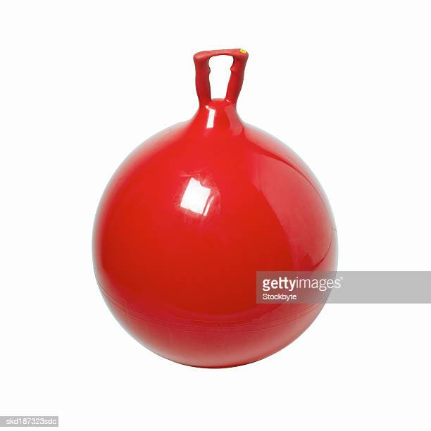 Close up of a space hopper