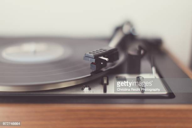 close up of a turntable - deck stock pictures, royalty-free photos & images