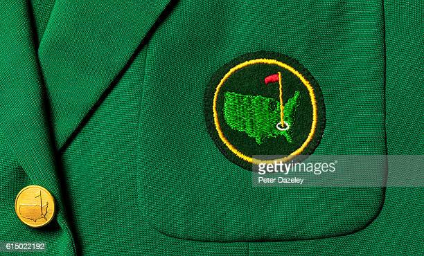 Close up of a US Masters jacket on September 19, 2016 in London, England.