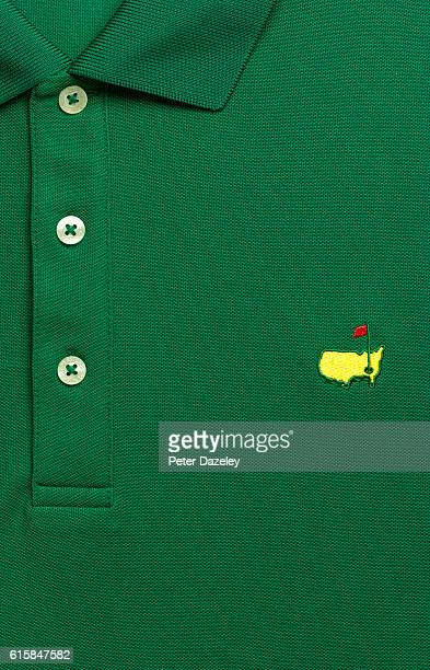 A close up of a US Masters shirt on September 19 2016 in London England