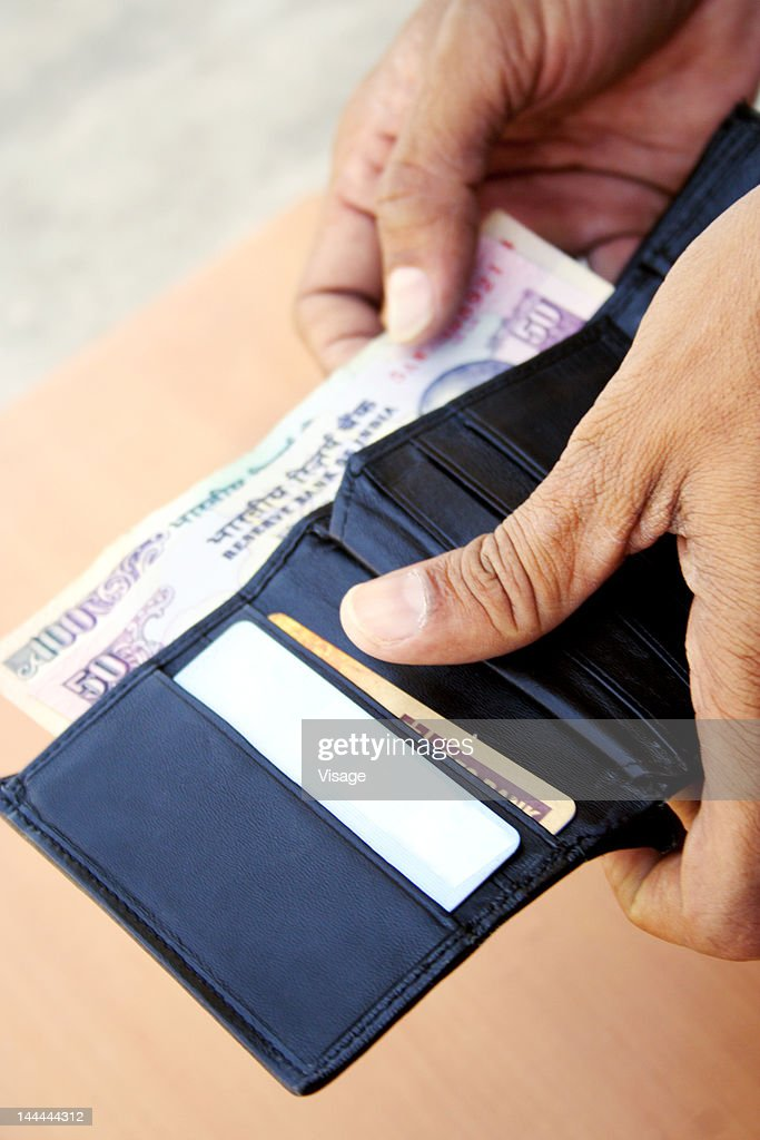 Close up of a wallet : Stock Photo