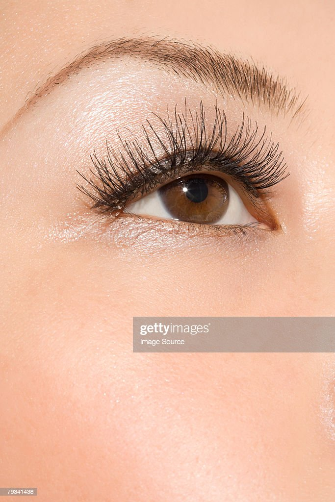 Close up of a womans eye : Stock Photo