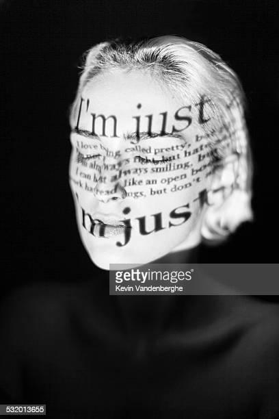 close up of a young woman,just a girl - hermafrodita fotografías e imágenes de stock