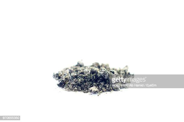 close up of ash on white background - ash stock pictures, royalty-free photos & images