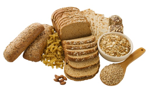 Close up of assorted grains and bread - gettyimageskorea