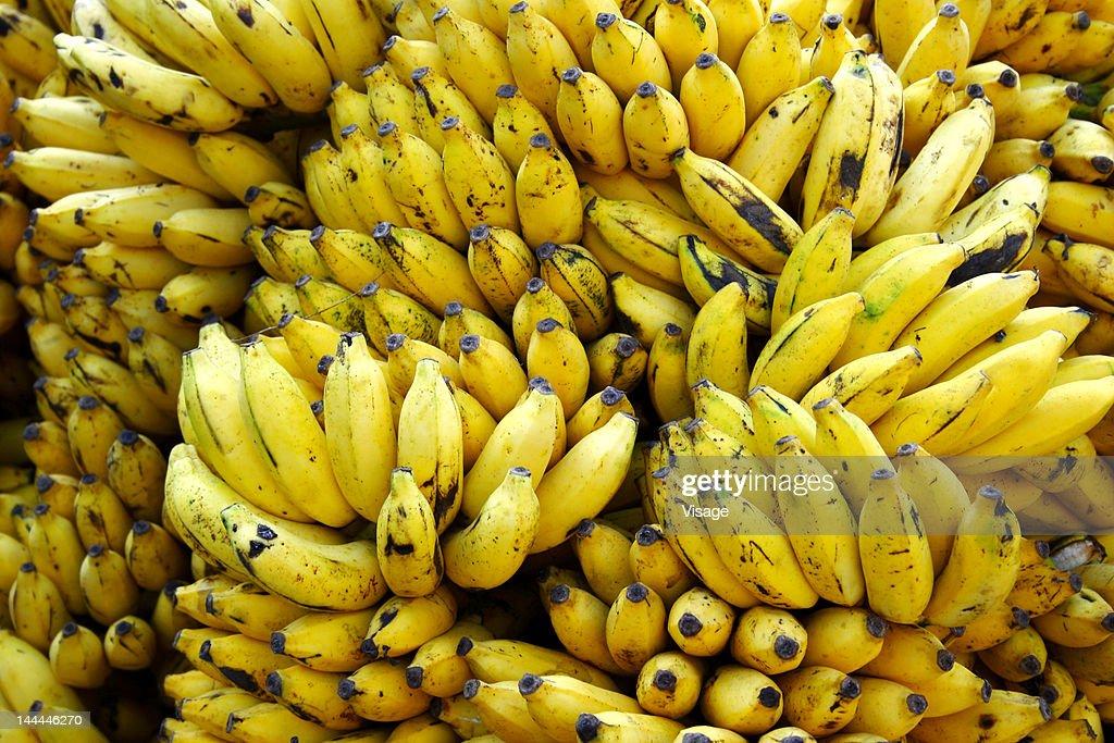 Close up of bananas : Stock Photo