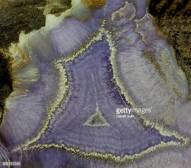 close up of banded agate - agate stock pictures, royalty-free photos & images