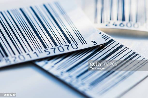 close up of bar codes, studio shot - bar code stock pictures, royalty-free photos & images