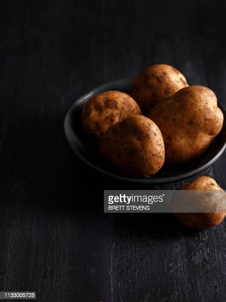 close up of bowl of potatoes - still life stock pictures, royalty-free photos & images
