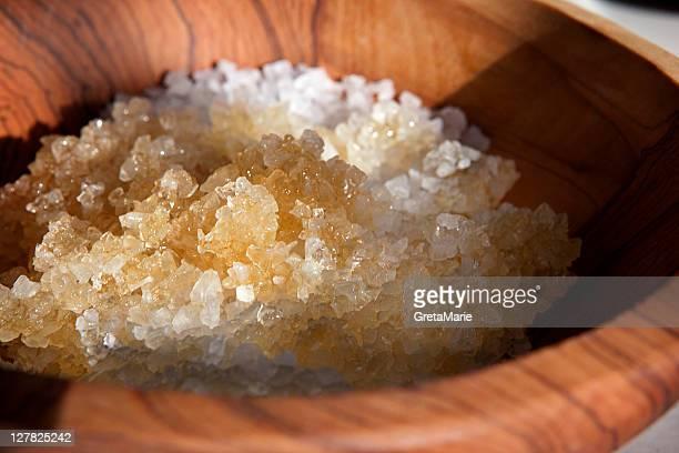 Close up of bowl of sugar