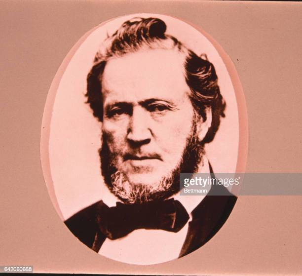 Close up of Brigham Young Preacher for the Church of LatterDay Saints who lead his sect in his migration westward to Utah