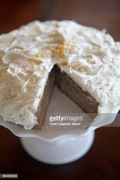 close up of cake - heidi coppock beard stock-fotos und bilder