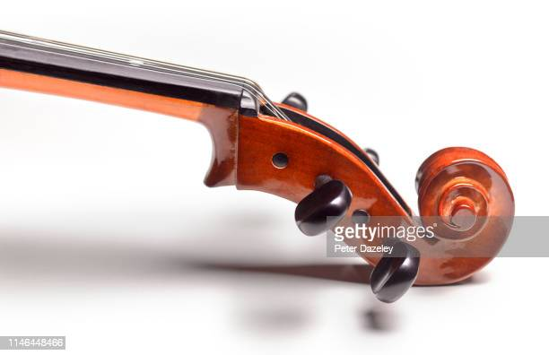 close up of cello head - skill stock pictures, royalty-free photos & images
