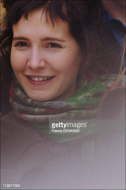 Close Up Of Chloe Lambert On January 28Th 2006 In Gerardmer France Here Chloe Lambert French Actress