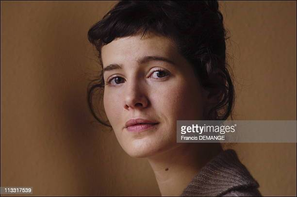 Close Up Of Chloe Lambert - On January 28Th, 2006 - In Gerardmer, France - Here, Chloe Lambert, French Actress.