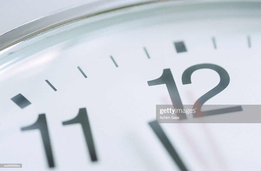 Close up of clock face : Foto de stock
